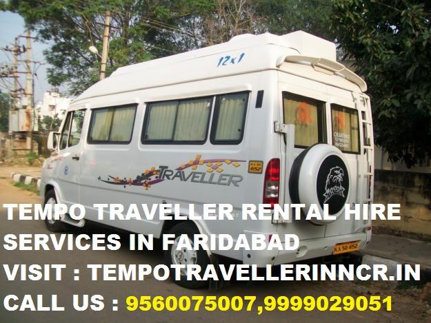 Tempo Traveller Ballabgarh