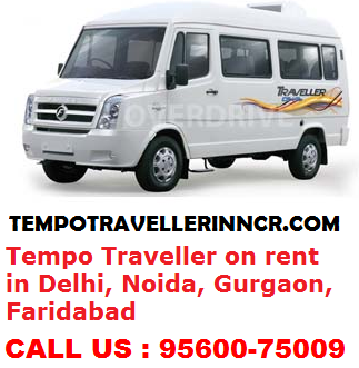 Tempo Traveller in Gurgaon<br>Call us : 9560075009
